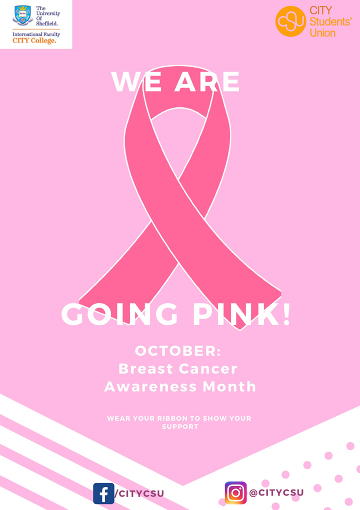 Going Pink - Breast Cancer Awareness campaign by the CSU