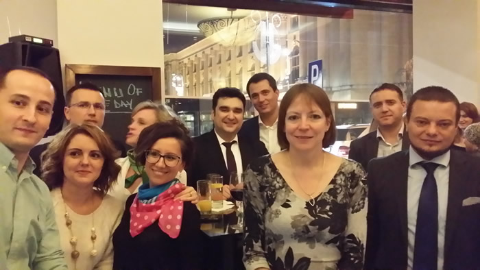 The University of Sheffield Deputy Vice-Chancellor, Prof. Shearer West, warmly welcomed more than 100 alumni who reunited in the Alumni Reunion in Bucharest.