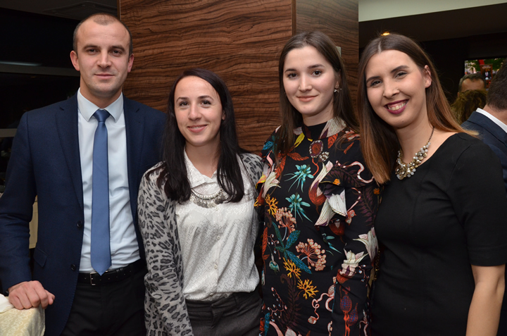More than 150 alumni attended the 'University of Sheffield Alumni Event' in Prishtina entitled 'Sheffield University for Kosovo: Developing People'