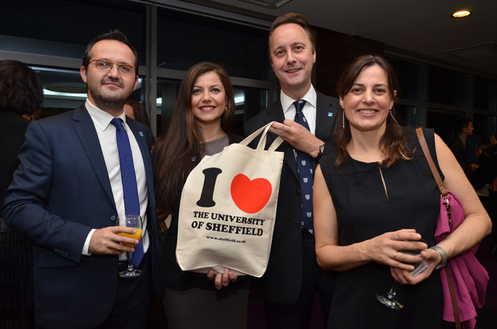 More than 150 alumni attended the 'University of Sheffield Alumni Event' in Prishtina