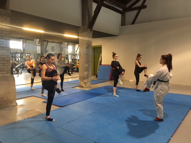 Karate for CITY Women at Warehouse gym