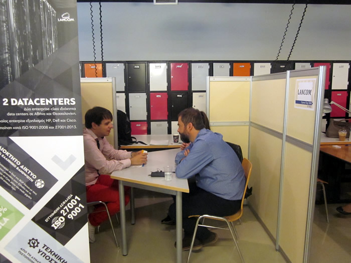 More than 100 students and 50 alumni participated in this year's Career Day at CITY College's main campus in Thessaloniki