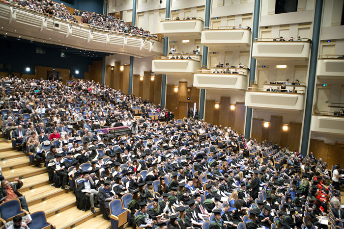 The graduation ceremony of the University of Sheffield International Faculty, CITY College, took place at the Thessaloniki Concert Hall