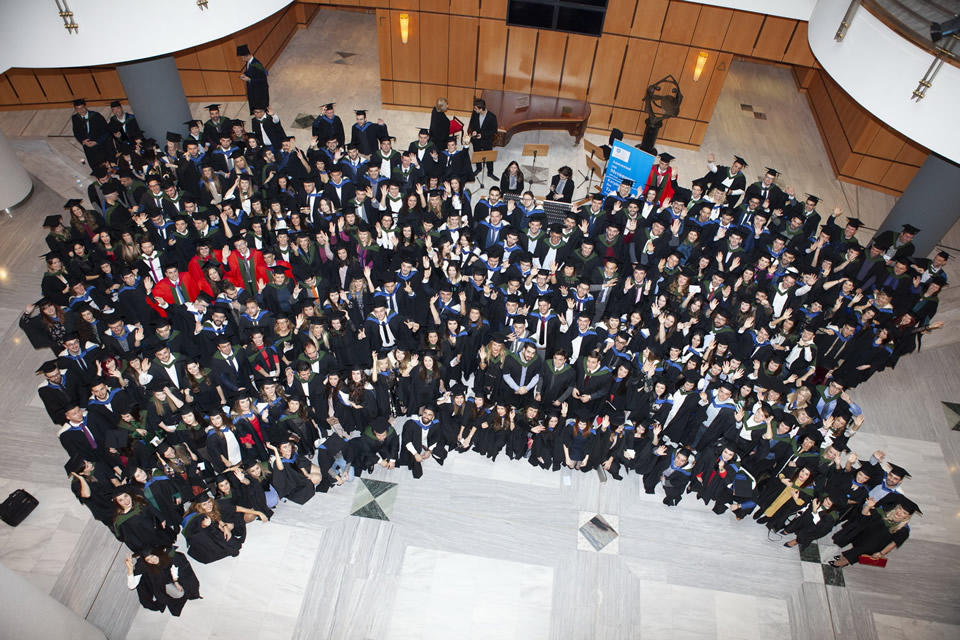 Hundreds of University of Sheffield graduates from across the region officially received their degrees at the formal graduation ceremony of the university's International Faculty CITY College