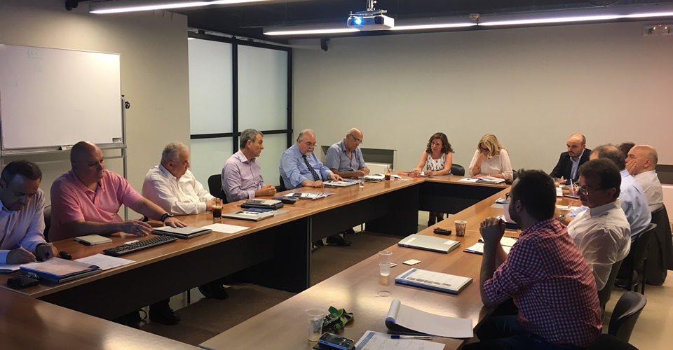 On Thursday, 29 June 2017 the International Industrial Advisory Board (IAB) of the Business Administration and Economics Department held its annual meeting