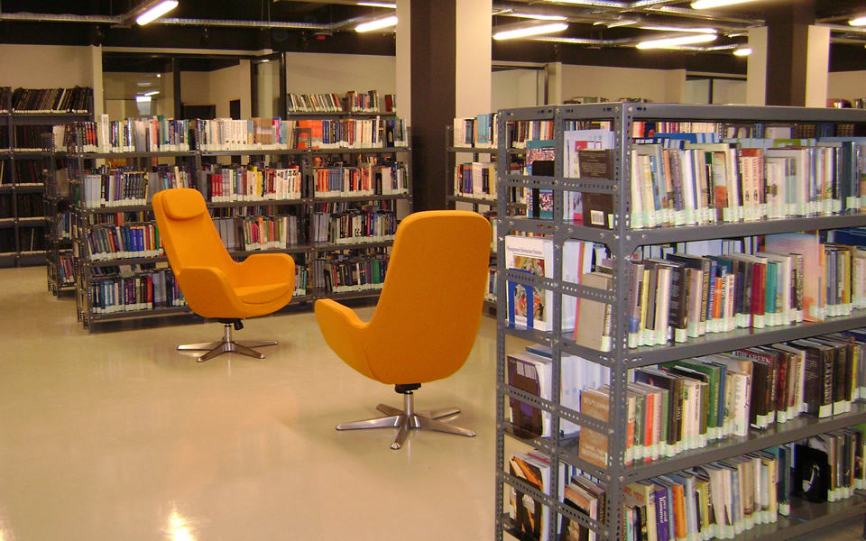 The Information & Learning Commons (ILC) - CITY College, International Faculty of the University of Sheffield