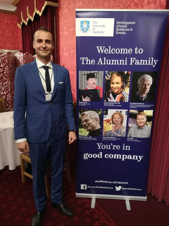 CITY College International Faculty graduate, Mr. Nikolaos Tsokanos, had the honour to be one of the 150 selected Sheffield alumni to attend the House of Lords Alumni Reception 2019