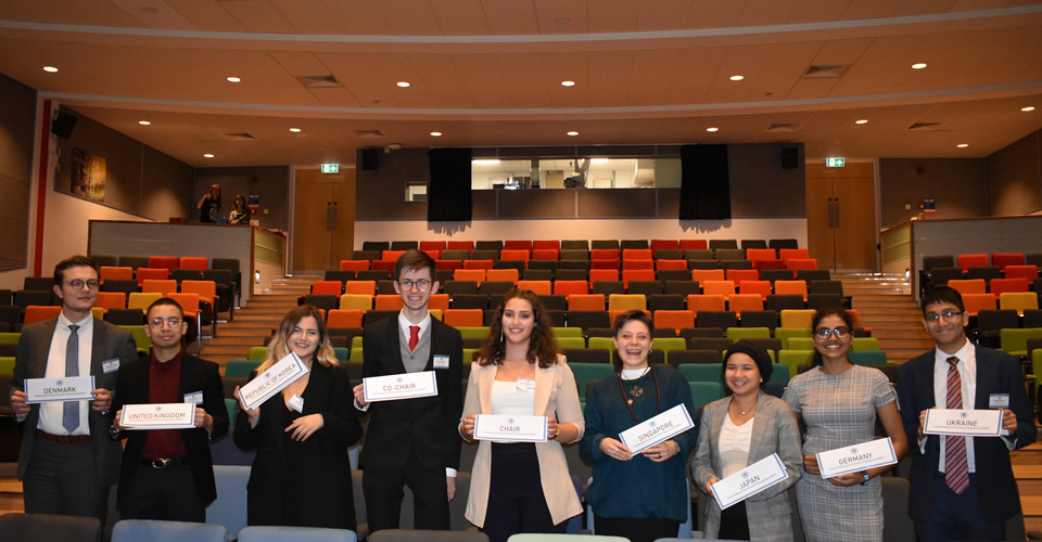 City's MUN joins SheffMUN Conference at the University of Sheffield, UK