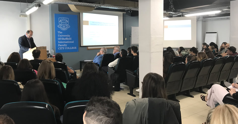 CITY College, International Faculty of the University of Sheffield, and its research centre, SEERC, celebrated academic research with the Young Researchers Week 2019 (YRW2019)