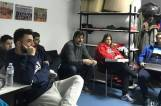 Dr Pavlidis speaks about anti-doping to Apollon Kalamarias basketball team