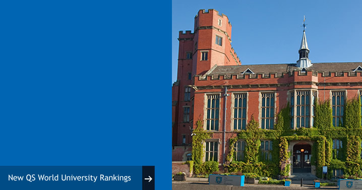 University of Sheffield ranked within top 100 universities in QS World University Rankings
