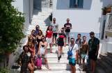 Summer trip to Skiathos island for CITY College students