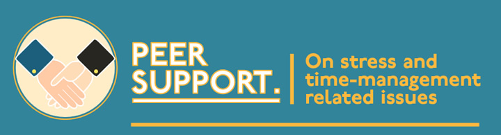 Peer Support Scheme: Student-led support on stress-related issues
